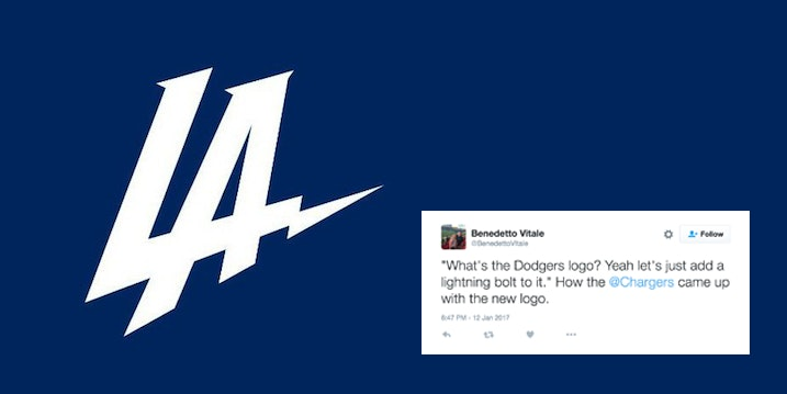 The New Chargers Logo Is Being Dragged On Twitter