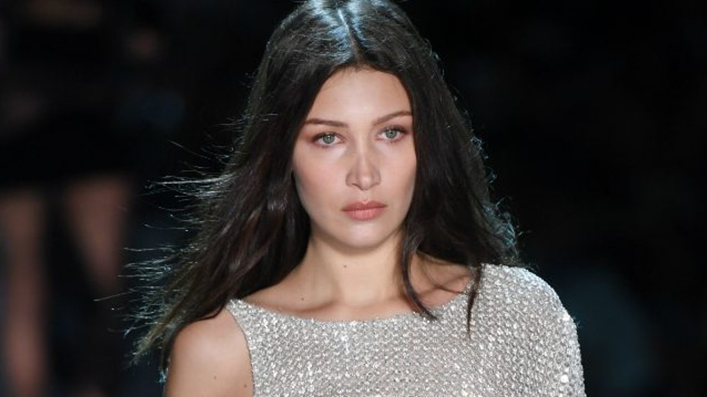 40a1488f38f Bella Hadid Can t Stop Wearing See-Through Dresses