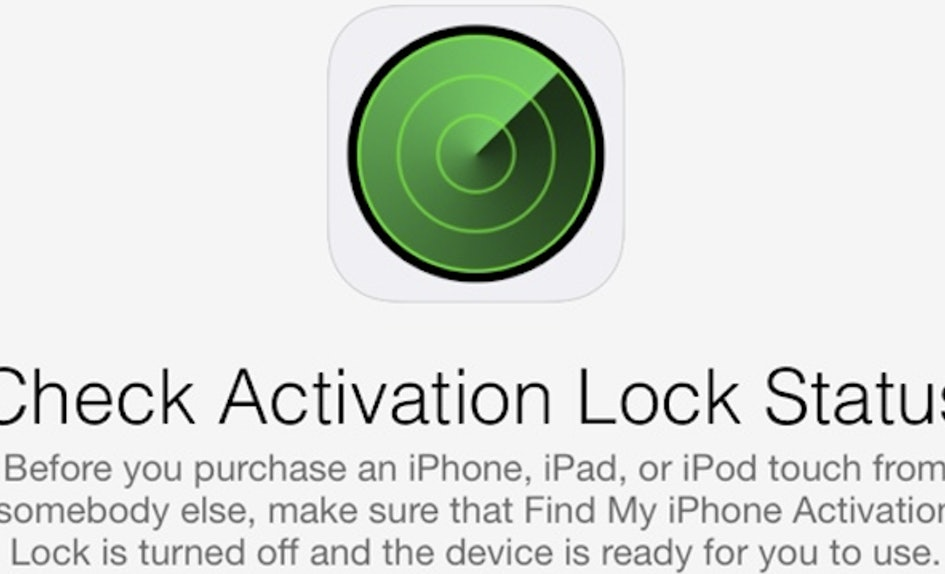 Apple Removes Icloud Activation Lock Status Checker