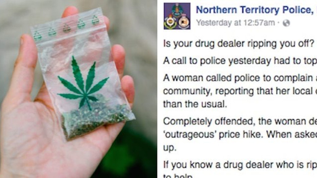 Cops Troll Woman Who Ratted Out Drug Dealer On Facebook