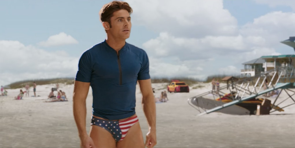 Check Out Zac Efron S Tiny Speedo In New Baywatch Trailer