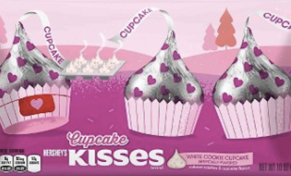 New Cupcake Flavored Hershey Kisses Are Perfect For V Day