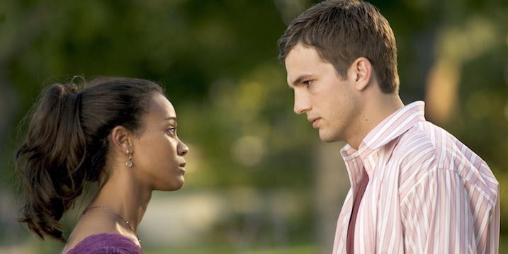 A black girl dating a white guy