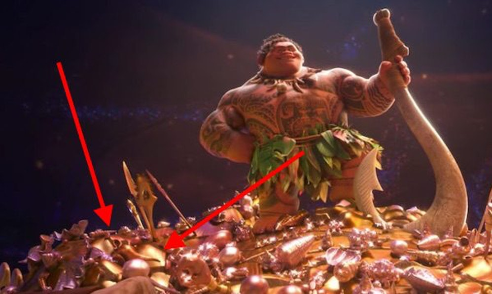 Moana Easter Eggs Includes A Connection To Aladdin