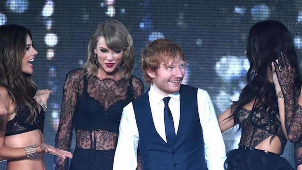 Ed Sheeran Hooked Up With Taylor Swift S Squad Members