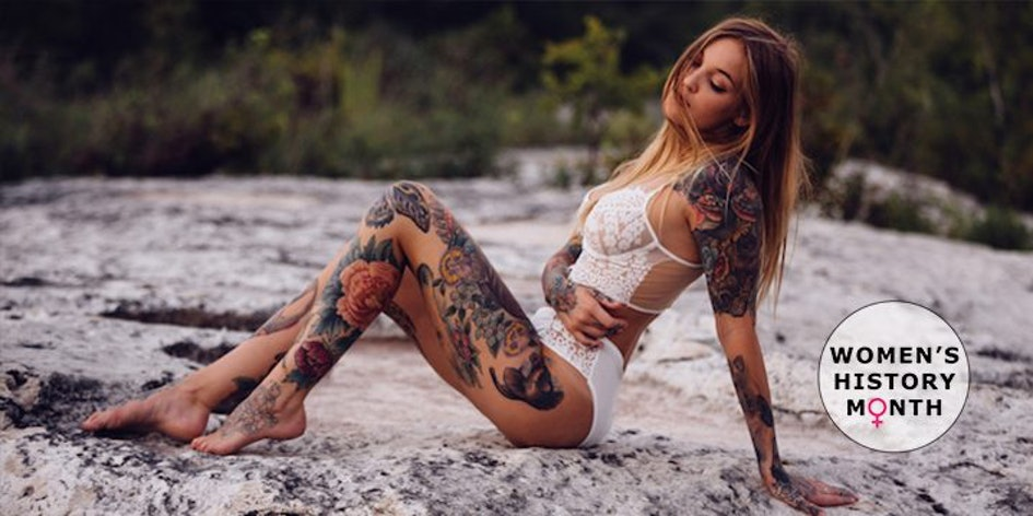 Image result for woman tattoos