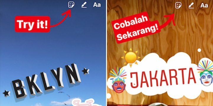 Instagrams location stickers are prettier than snapchats ccuart Images