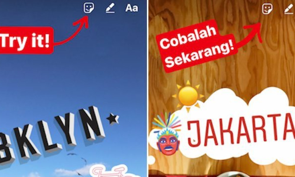 Instagrams location stickers are prettier than snapchats ccuart Image collections