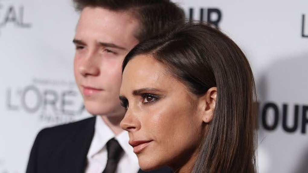 02a3341db8b Victoria Beckham Teases Son Brooklyn On Instagram