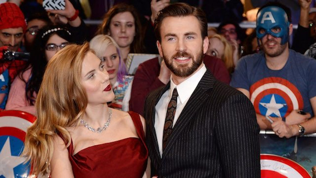 Why People Think Scarlett Johansson Is Dating Chris Evans