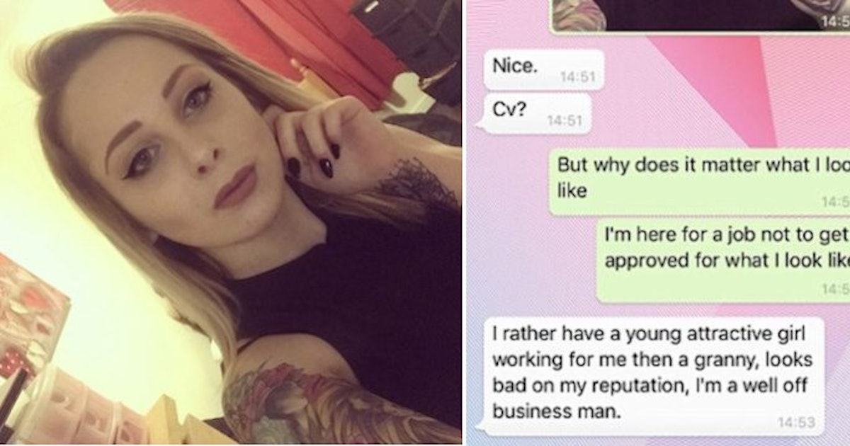 Teen Applies For Cleaning Job And Gets Creepy Response