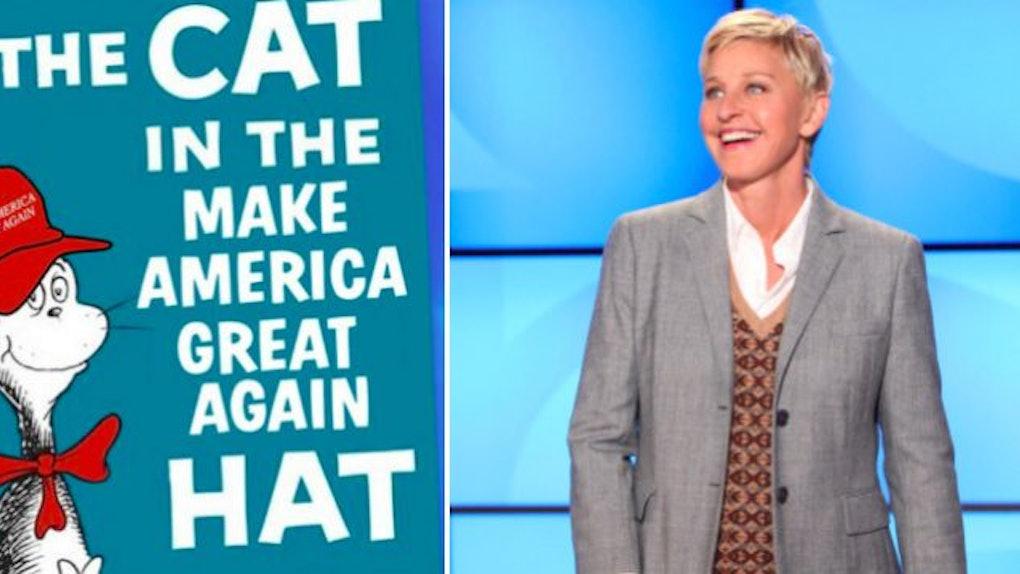 9f887e846e60 Trump Gets Trolled By Ellen DeGeneres With Children s Books