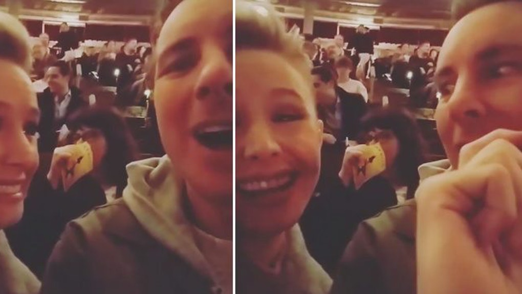 Kristen Bell And Dax Shepard Saw 'Hamilton' For Date Night
