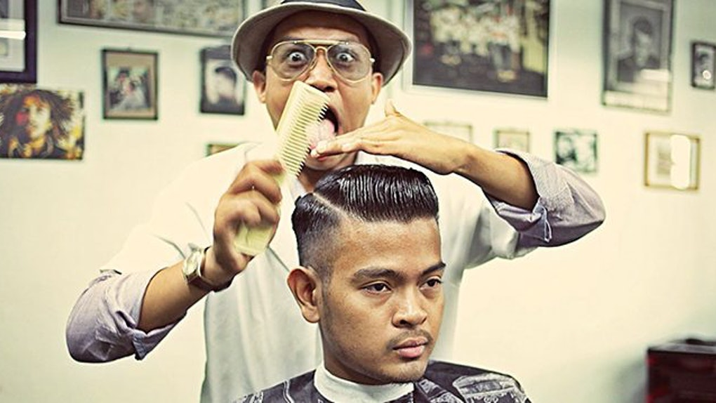 Barber In Malaysia Dedicated To Giving Vintage Haircuts