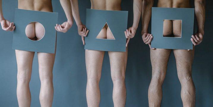 Naked free blindfolded bondage