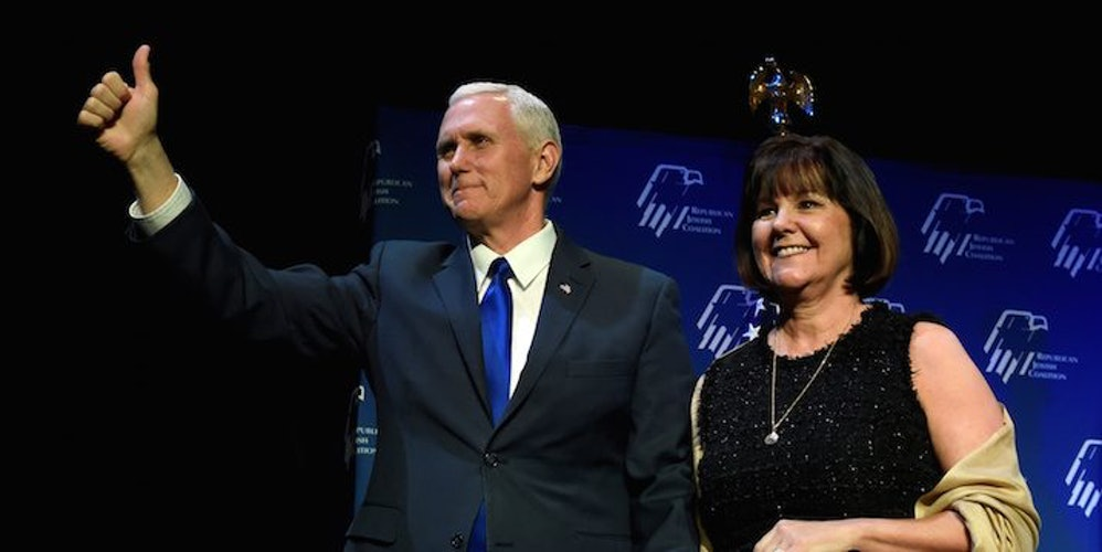 Image result for Mike Pence won't dine alone with a woman who's not his wife. Is that sexist?