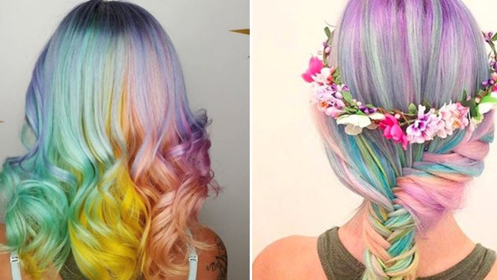Unicorn Hair Makes For The Perfect Spring Look