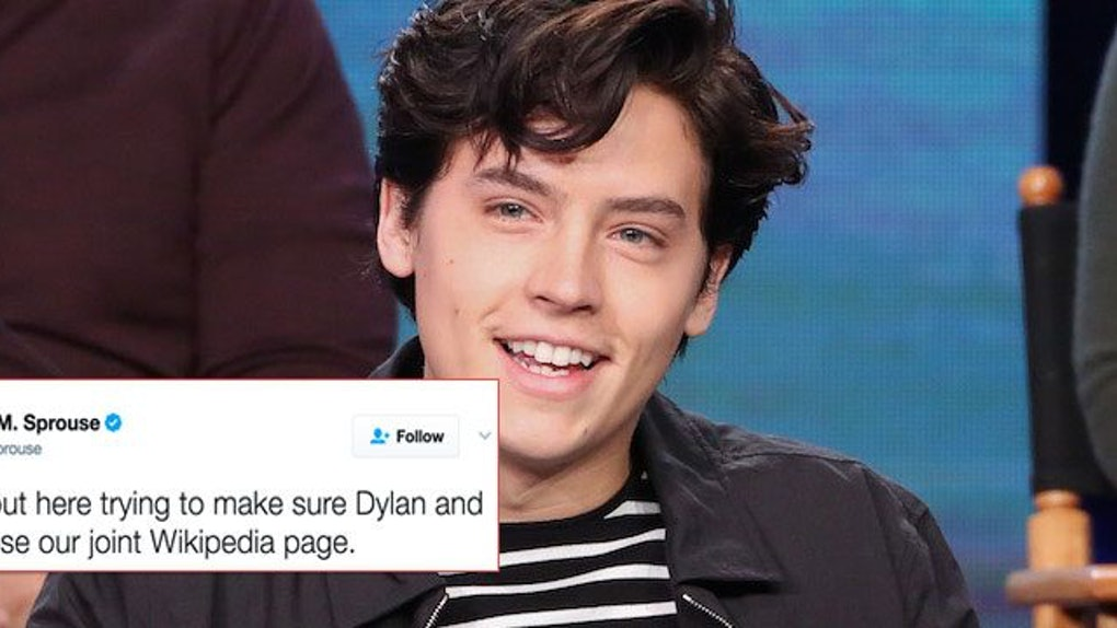 Cole Sprouse Has A Low-Key Hilarious Twitter