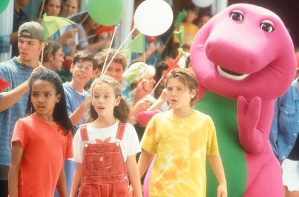 Kyla Pratt on 'Barney and Friends'