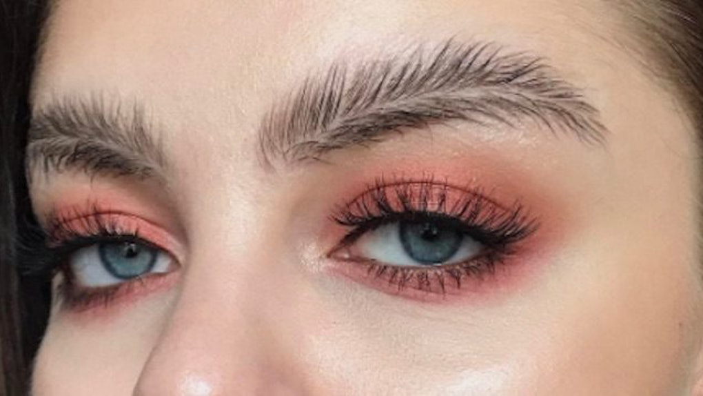 Feather Brows Take Bushy Eyebrow Trend To New Level