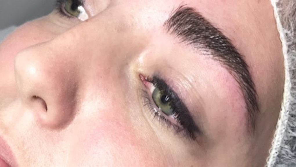 I Tried Microblading And My Brows Look Better Than Ever
