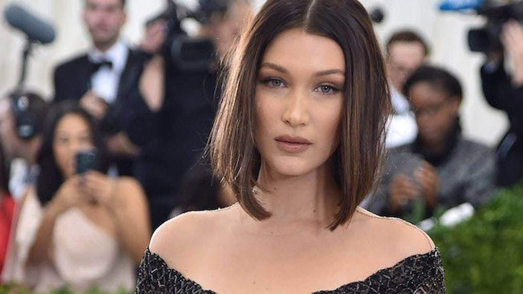 Bella Hadid Wears Revealing Dress To Met Gala After Party
