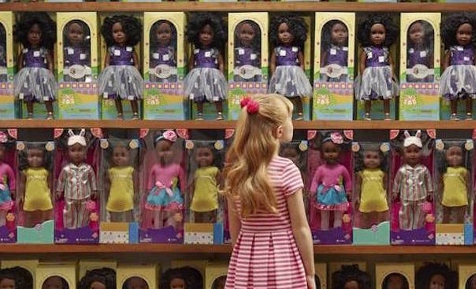 In a photo series for O Magazine, racial dynamics between