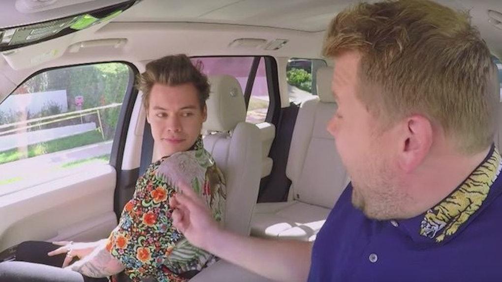 Harry Styles Wins Carpool Karaoke With James Corden