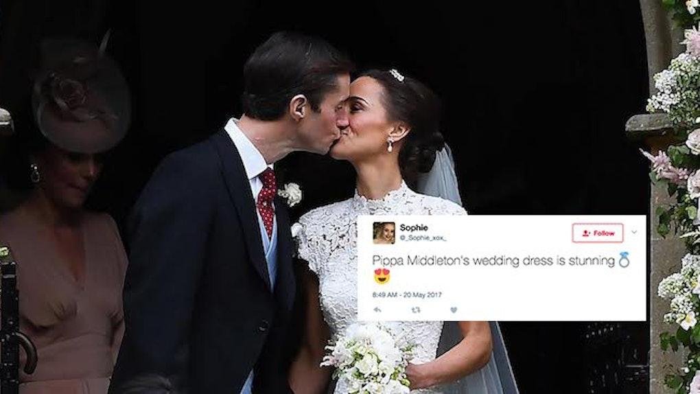 Pippa S Wedding.Pippa Middleton S Wedding Dress Is Making Everyone Go Wild