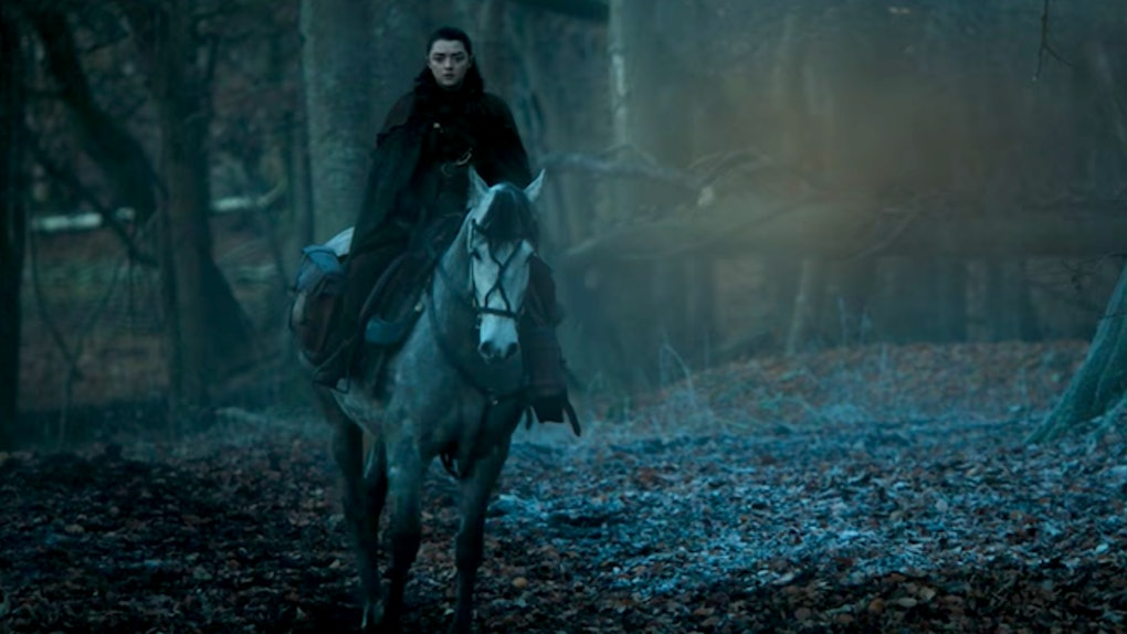 Where Is Arya In Game Of Thrones Season 7