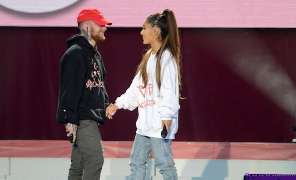 does ariana grande dating mac miller