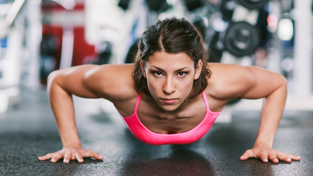 Image result for (Push-ups girl