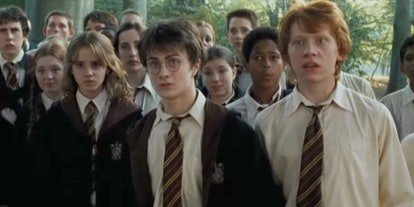 Daniel Radcliffe, Emma Watson and Rupert Grint in Harry Potter and the Goblet of Fire