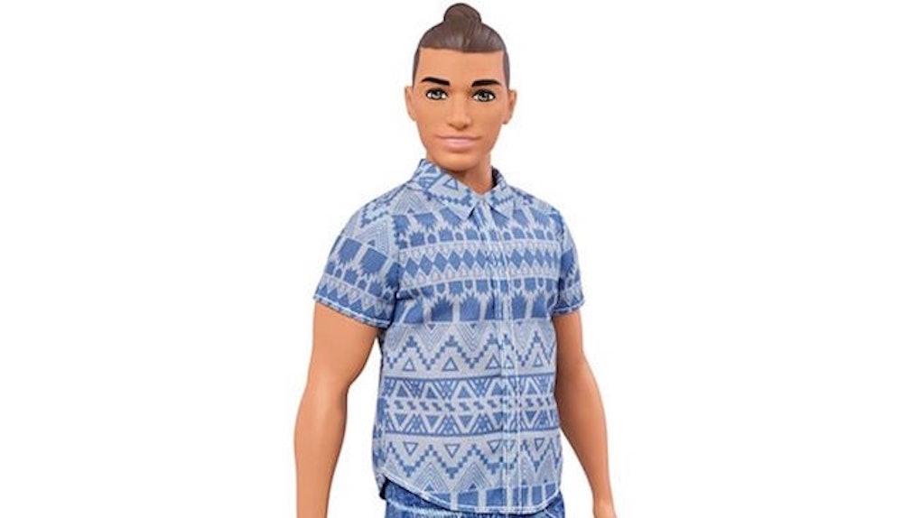 471e7a6cd Ken Doll With Man Bun Is Causing Mixed Twitter Reactions