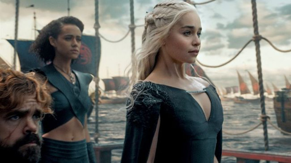 Image result for daenerys targaryen narrow sea
