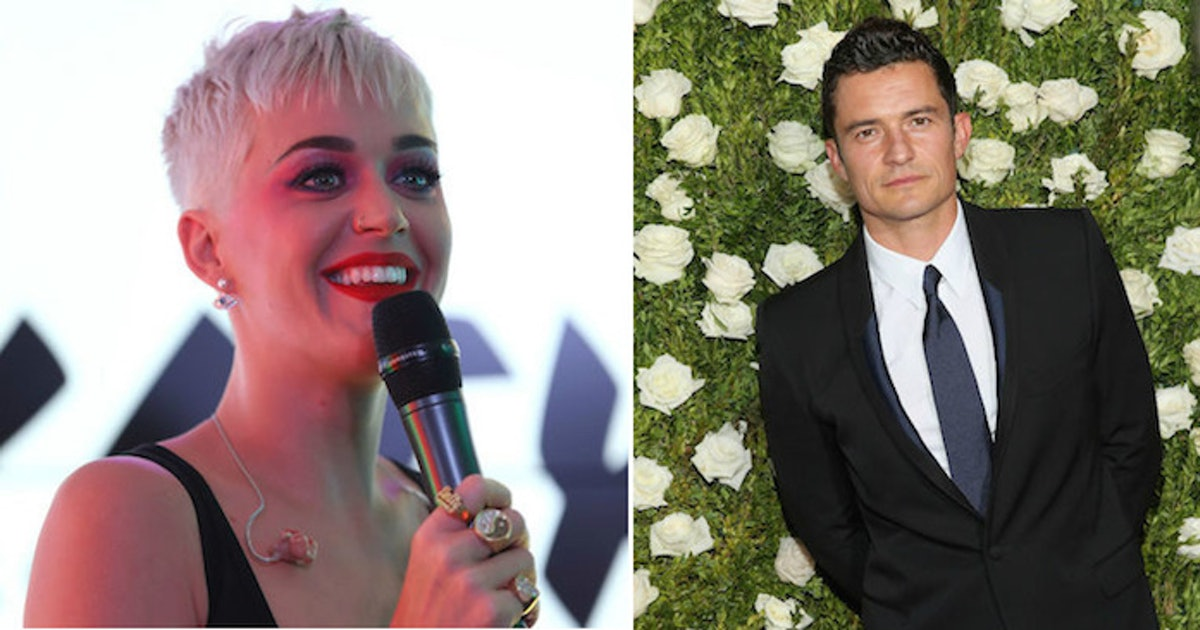 Thats Amore! Katy Perry and Orlando Bloom Cant Stop