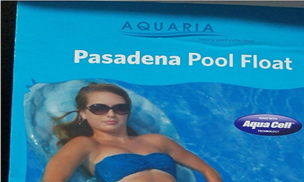 this pasadena pool float is being compared to a huge maxi pad. Black Bedroom Furniture Sets. Home Design Ideas