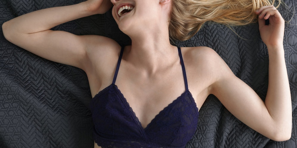 Is Sleeping In A Bra Bad For You? Here's What Wearing A ...