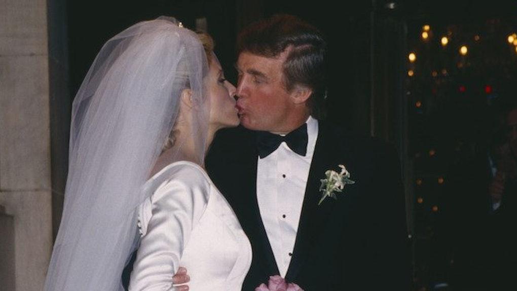 Ivana And Donald Trump Wedding 1977.Photos Of Donald Trump S Weddings Show They Were Extravagant Affairs