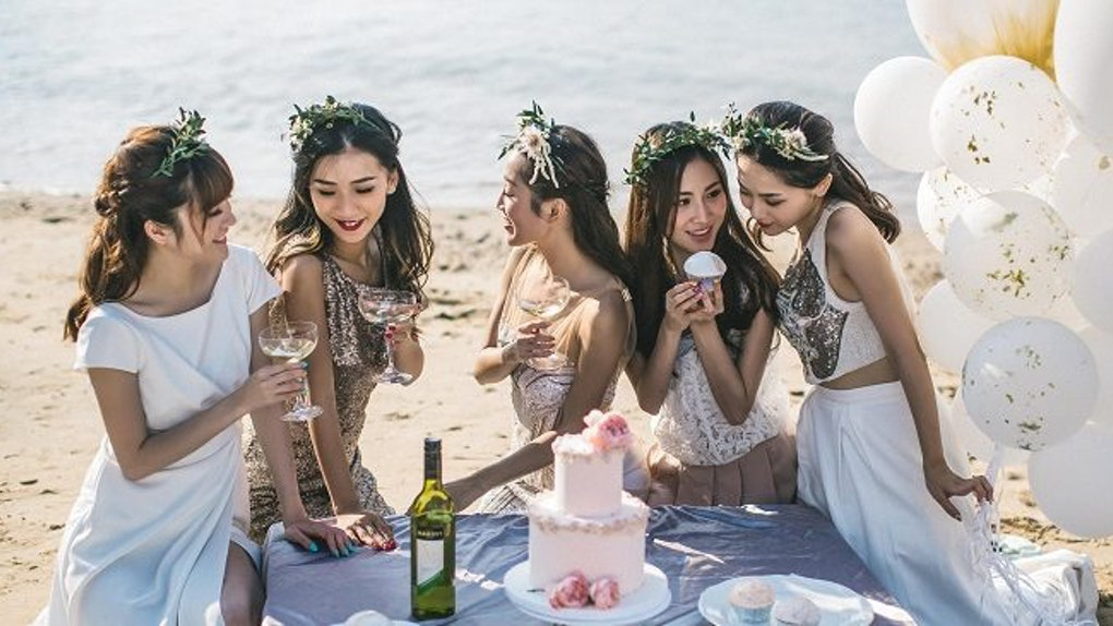 captions for party photos