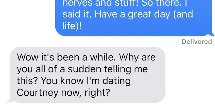 My husband was dating someone else when we met