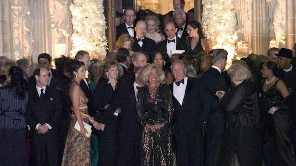 Trump And Melania Wedding.Donald Melania Trump S Wedding Guest List Included A Lot Of Celebs