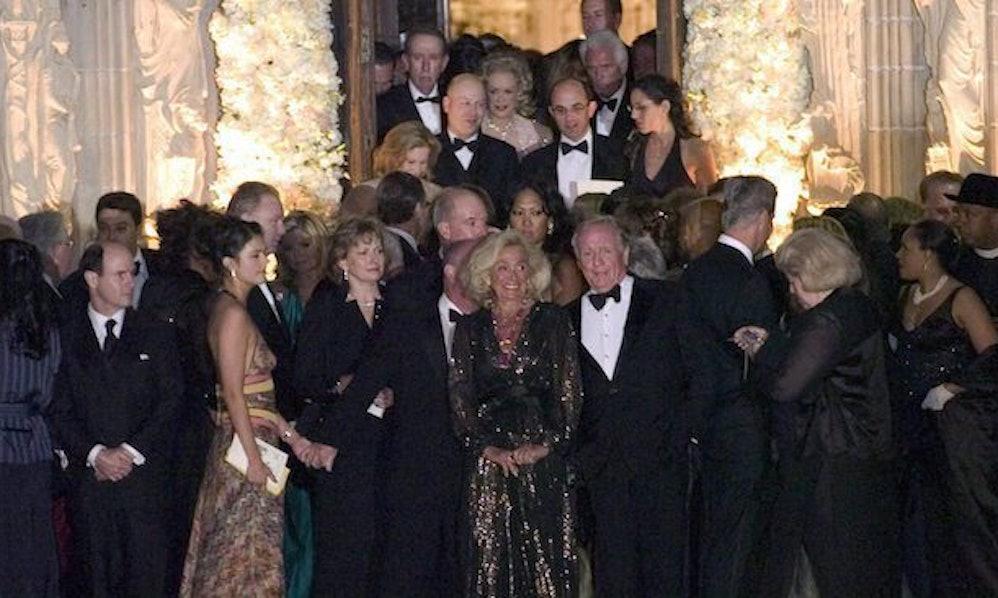 Donald & Melania Trump's Wedding Guest List Included A Lot