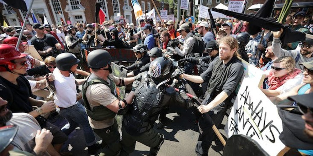 Image result for trump both sides charlottesville