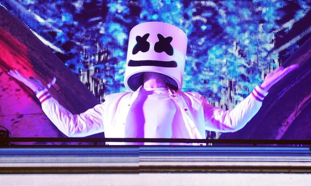What does marshmello look like heres whats under the mask stopboris Choice Image