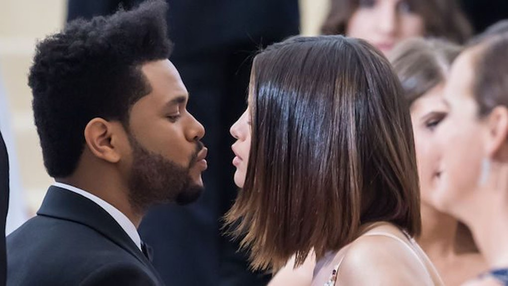 a25a03fd4af8 Photo of Selena Gomez & The Weeknd's Matching Outfits On NYC Date Will Make  You Swoon