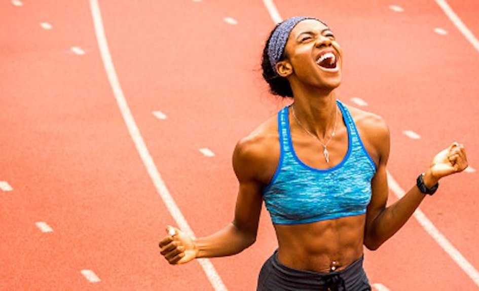 yelling while working out can actually improve your performance