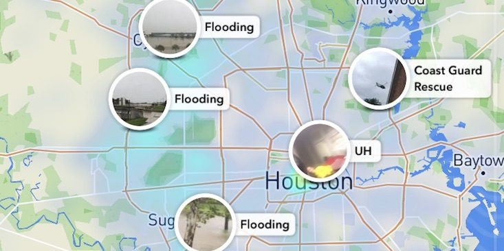 How To See Hurricane Harvey Damage On