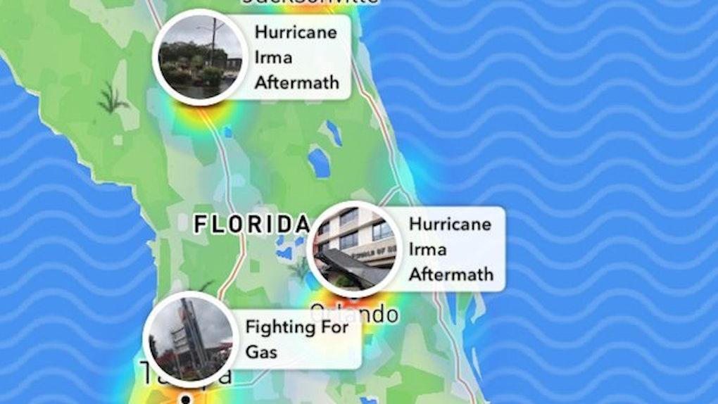 Hurricane Irma Snap Map Stories In Florida Were Massive