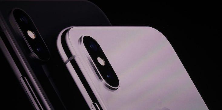 Iphone x rose gold sortie